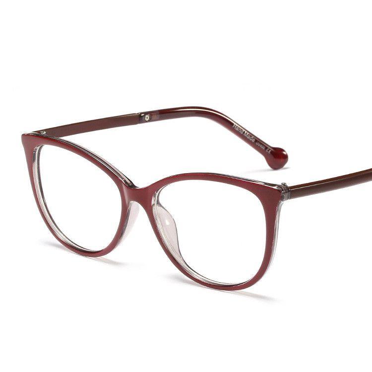 Plastic Fashion  glasses  (C1)  Fashion Accessories NHFY0700-C1