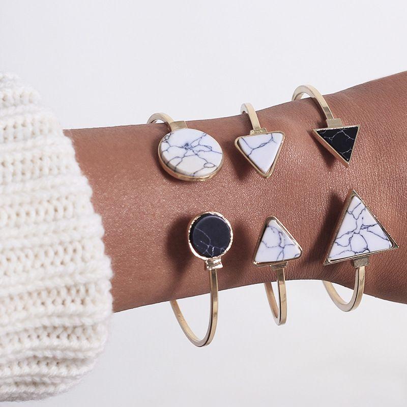 Alloy Fashion Geometric bracelet  (Alloy)  Fashion Jewelry NHNZ1277-Alloy