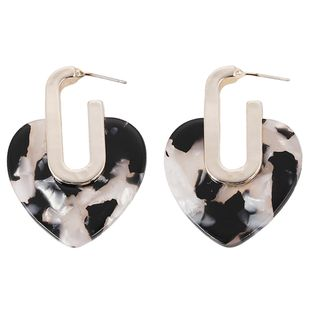 Acrylic Fashion Geometric earring  (Style one)  Fashion Jewelry NHJQ11324-Style-one's discount tags