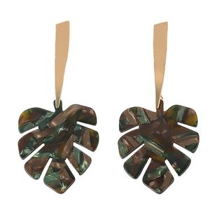 Acrylic Fashion Geometric earring  (green)  Fashion Jewelry NHJQ11325-green's discount tags