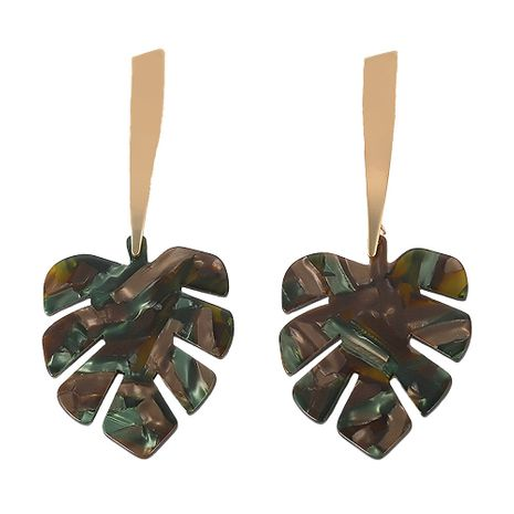 Acrylic Fashion Geometric earring  (green)  Fashion Jewelry NHJQ11325-green's discount tags