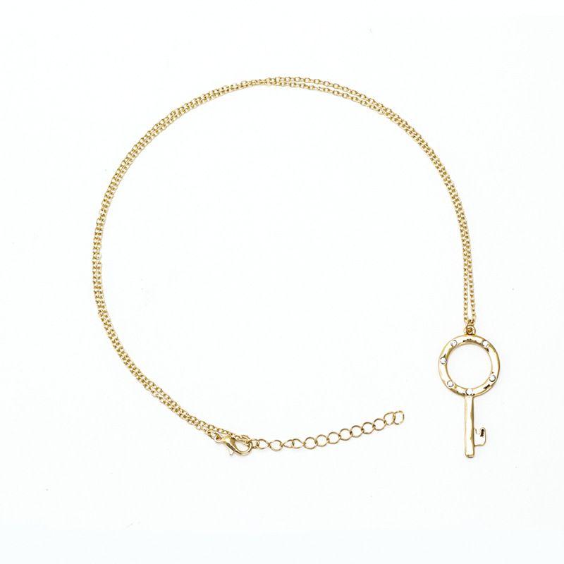 Alloy Fashion  necklace  (Alloy)  Fashion Jewelry NHNZ1224-Alloy