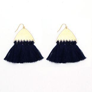 Alloy Fashion Tassel earring  (Dark blue)  Fashion Jewelry NHNZ1232-Dark-blue's discount tags