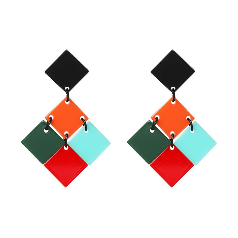 Plastic Fashion Geometric earring  51590  Fashion Jewelry NHJJ551251590