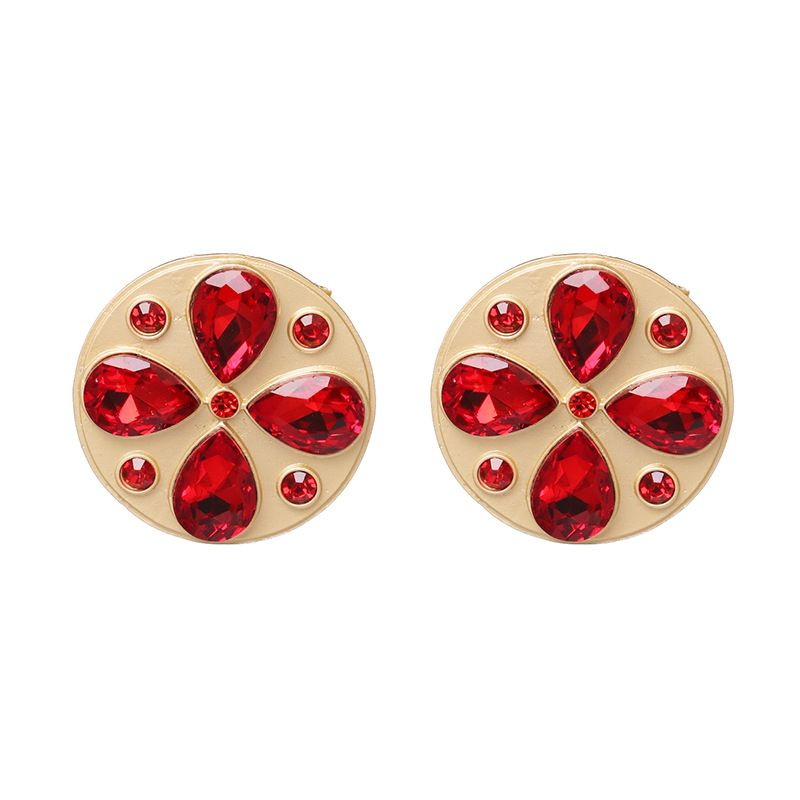 Alloy Fashion  earring  (red)  Fashion Jewelry NHJJ5533-red