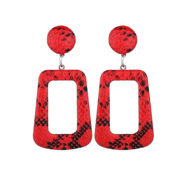 Alloy Korea  earring  (red)  Fashion Jewelry NHBQ1918-red