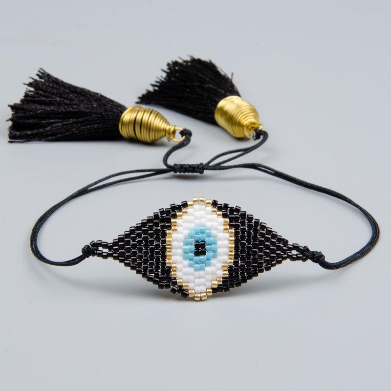 Alloy Fashion Tassel bracelet  (MI-B180405A)  Fashion Jewelry NHGW1222-MI-B180405A