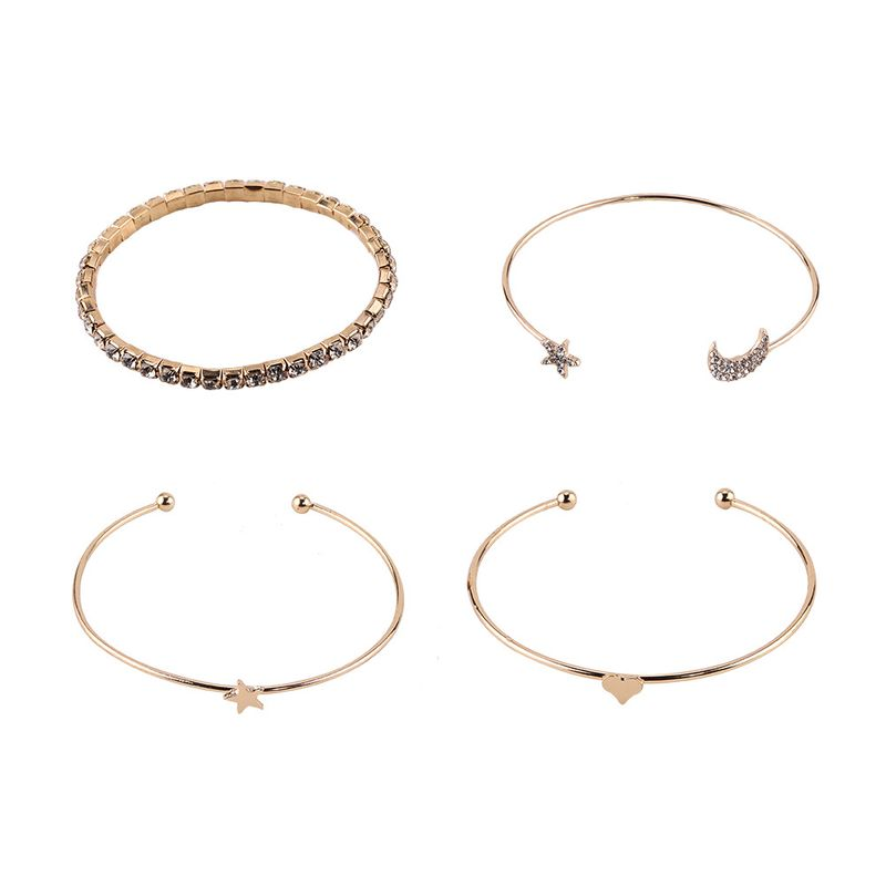 Alloy Korea Geometric bracelet  Alloy  Fashion Jewelry NHJQ11210Alloy