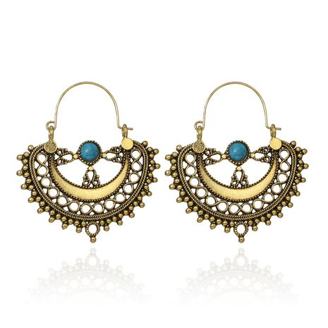 Alloy Simple Flowers earring  (Alloy)  Fashion Jewelry NHGY2934-Alloy's discount tags