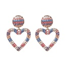 Alloy Fashion Sweetheart earring  black  Fashion Jewelry NHJJ5515black