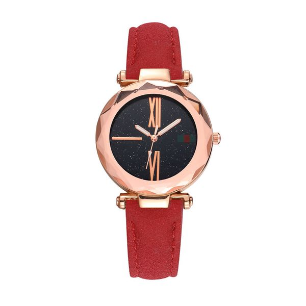 Alloy Fashion  Ladies watch  (red)  Fashion Watches NHSY1858-red