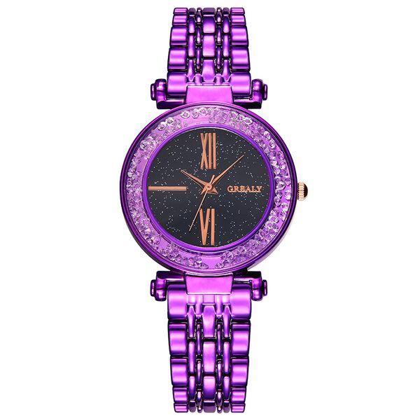 Alloy Fashion  Ladies watch  (purple)  Fashion Watches NHSY1866-purple