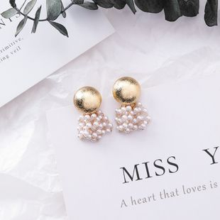 Alloy Korea Tassel earring  (Main picture)  Fashion Jewelry NHMS2168-Main-picture's discount tags