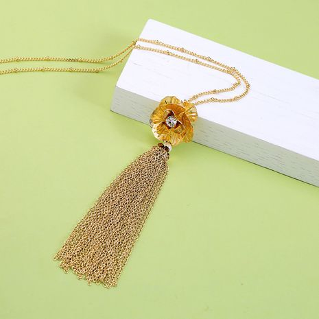 Alloy Fashion Flowers Body accessories  (Photo Color)  Fashion Jewelry NHQD6147-Photo-Color's discount tags