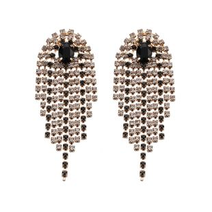 Alloy Fashion Tassel earring  (Alloy)  Fashion Jewelry NHJQ11237-Alloy's discount tags