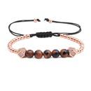 Copper Fashion bolso cesta bracelet  black  Fine Jewelry NHYL0629black