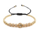 Copper Fashion bolso cesta bracelet  black  Fine Jewelry NHYL0633black