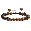 Alloy Fashion bolso cesta bracelet  Red tiger eye  Fashion Jewelry NHYL0634Redtigereye