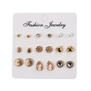 Alloy Vintage Flowers earring  Style one  Fashion Jewelry NHJQ11228Styleone
