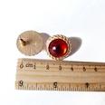 NHOM1345-Brown-earrings