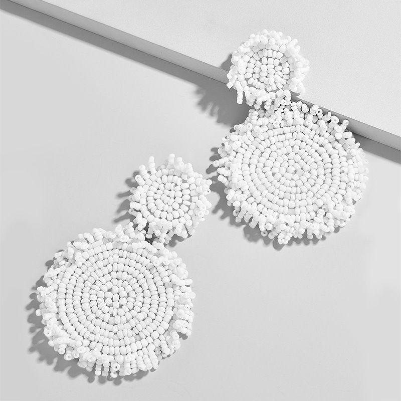 Alloy Fashion bolso cesta earring  (white)  Fashion Jewelry NHAS0205-white