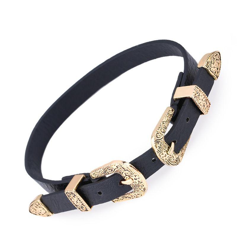 Alloy Fashion Geometric necklace  (Alloy)  Fashion Jewelry NHAS0223-Alloy