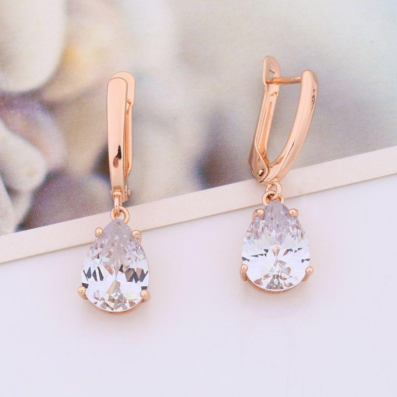 Alloy Fashion Geometric earring  white  Fashion Jewelry NHAS0239white