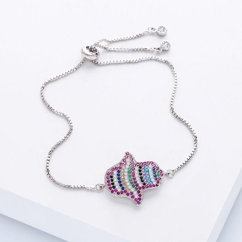 Alloy Fashion Geometric bracelet  (Alloy)  Fashion Jewelry NHAS0272-Alloy