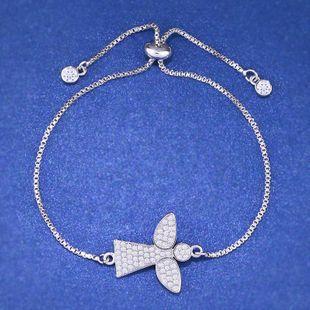 Copper Simple Cartoon bracelet  (Alloy)  Fine Jewelry NHAS0282-Alloy's discount tags