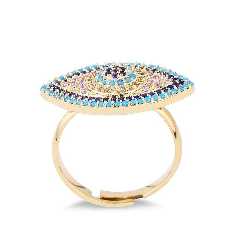 Copper Fashion Geometric Ring  (Alloy)  Fine Jewelry NHAS0294-Alloy