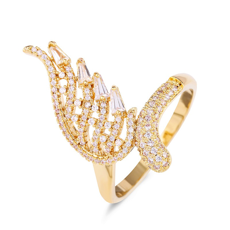 Copper Fashion  Ring  (Alloy-7)  Fine Jewelry NHAS0305-Alloy-7