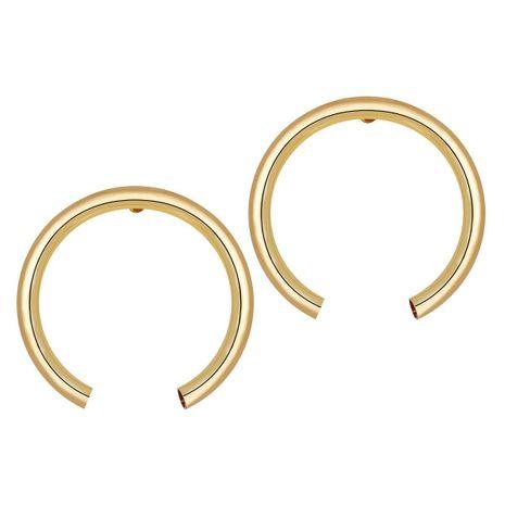 Pendientes Creative Metal Open Circle NHPJ157463's discount tags