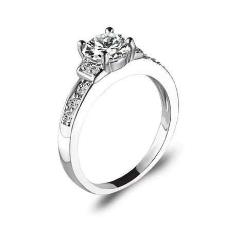 Anillo de circón creativo con micro incrustaciones de diamantes flash NHDP157495's discount tags