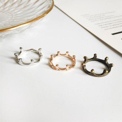 Versión coreana del anillo de aleación de estilo simple chapado en oro. NHDP157496's discount tags