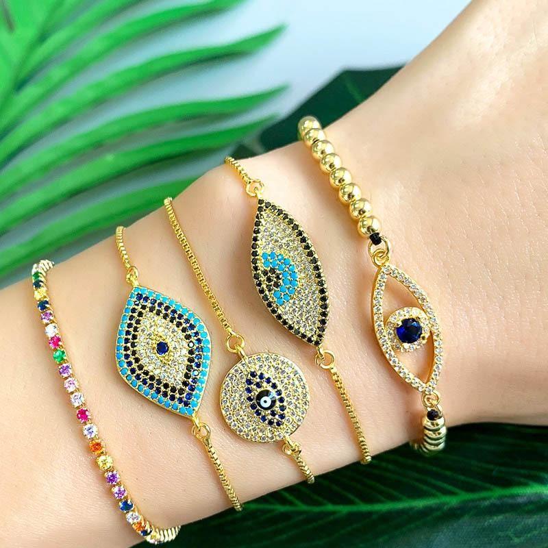 Womens Eyes Pearl Soaring Bracelets & Bangles NHAS157498