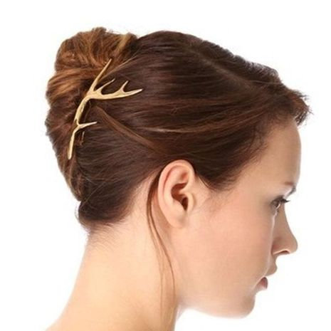 Accesorios para el cabello de aleación de asta con clip de palabra de moda NHDP157499's discount tags