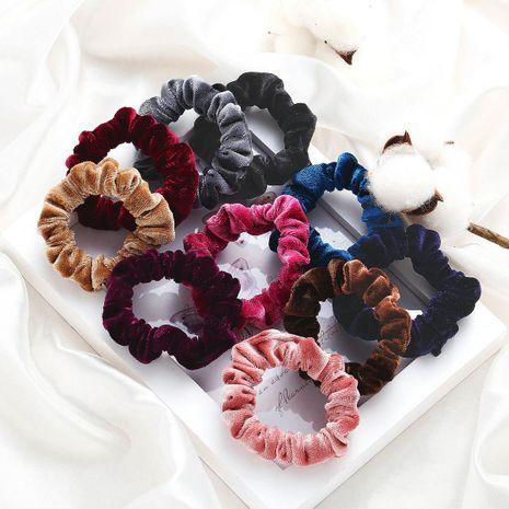 Terciopelo de coral hecho a mano floral para mujer Accesorios para pelo NHPJ157509's discount tags