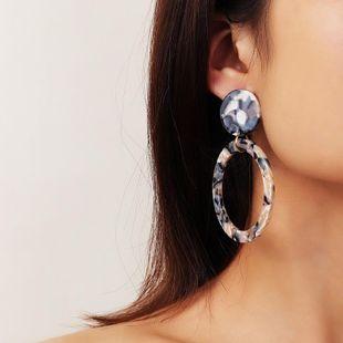 Fashion simple geometric acrylic acrylic earrings NHNZ157523's discount tags