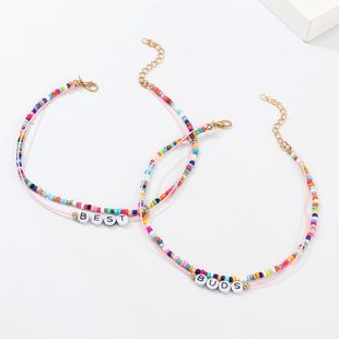 New color beads BEST BUDS necklace NHNZ157559's discount tags