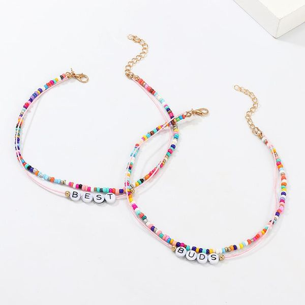 New color beads BEST BUDS necklace NHNZ157559