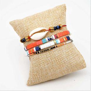 Miyuki Tila imported rice beads woven female bracelet NHGW157582's discount tags