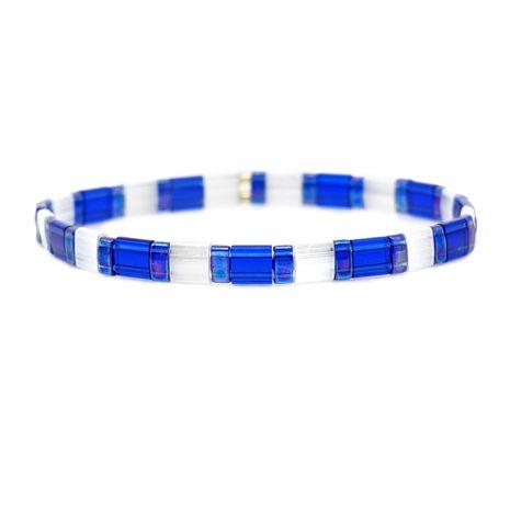 Pulsera trenzada de color con cuentas TILA de moda NHGW157593's discount tags
