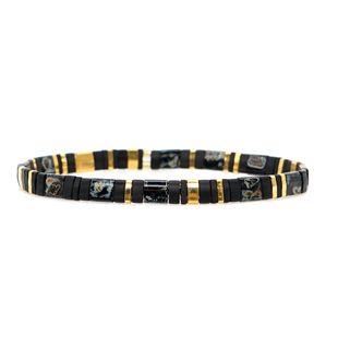 Nueva pulsera tejida con cuentas TILA importadas NHGW157596's discount tags