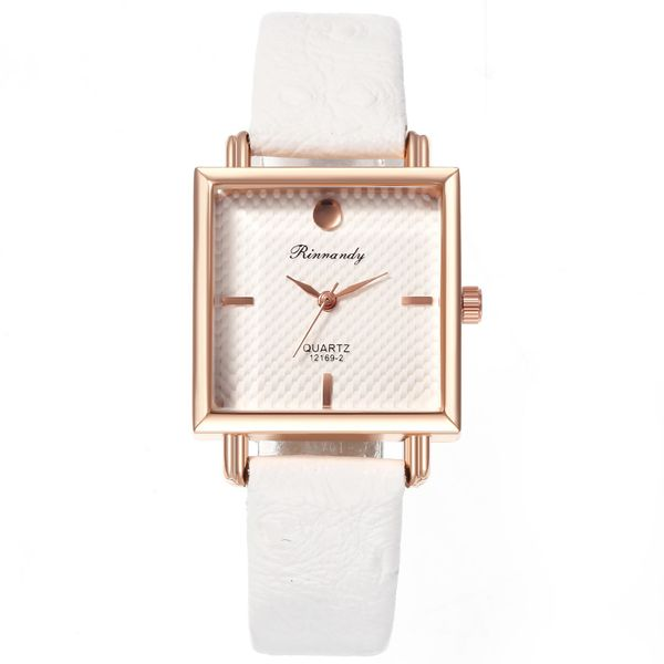 Creative square head fashion ladies quartz watch NHHK157655