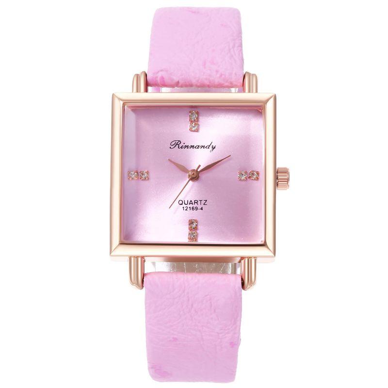 Fashion Diamond Scale Belt Quartz Watch NHHK157657