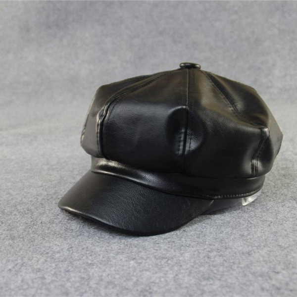 Wild PU octagonal hat painter hat NHXB157684
