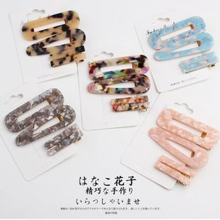 Korean transparent side clip sweet bangs clip hair accessories NHOF157725's discount tags