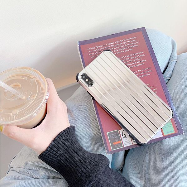 Simple solid color four-corner anti-drop mobile phone case NHDV157746