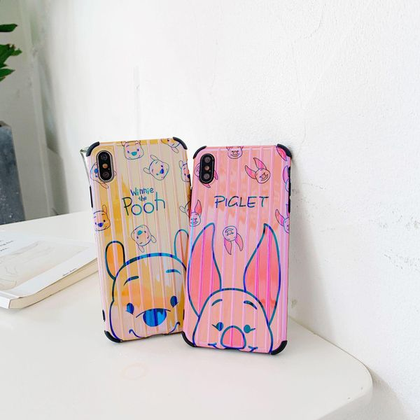 Cute Winnie the Pooh iPhone xsmax phone case NHDV157750