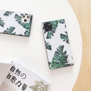 Korean square soft shell iPhone 11Pro max phone case NHDV157759's discount tags